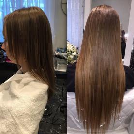 Капсульное наращивание волос Спб